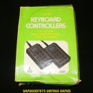 Keyboard Controllers - Atari 2600 - With Box & Basic Programming Overlays