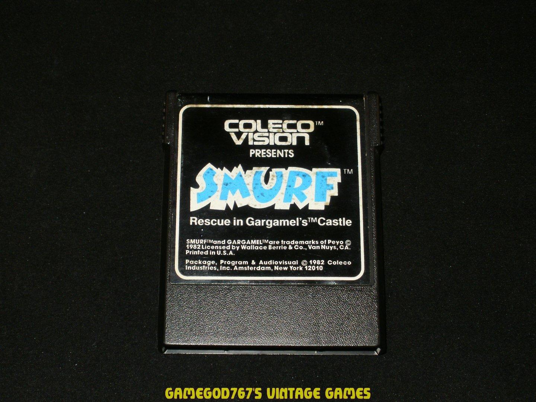 Smurf Rescue in Gargamel's Castle - Colecovision