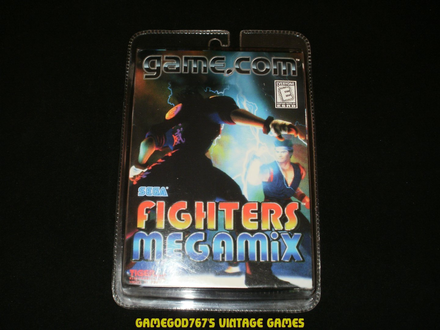 Fighters Megamix - Tiger Game.com  - Brand New Factory Sealed