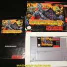 Super Ghouls 'N Ghosts - SNES Super Nintendo - Complete CIB