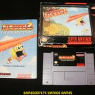 Pac-Man 2 The New Adventures - SNES Super Nintendo - Complete CIB