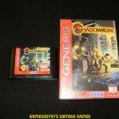 Shadowrun - Sega Genesis - With Box - Rare