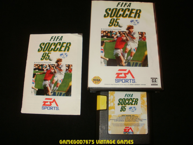FIFA Soccer 95 - Sega Genesis - Complete CIB