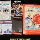 Sea Battle - Mattel Intellivision - Complete CIB