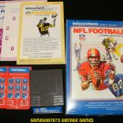 NFL Football - Mattel Intellivision - Complete