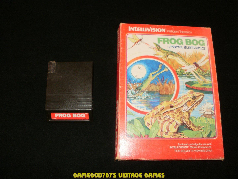 Frog Bog - Mattel Intellivision - With Box