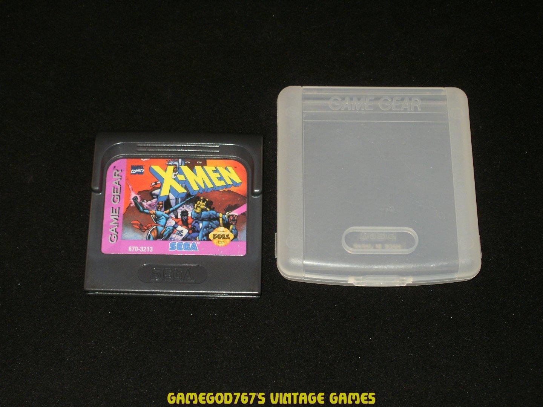 X-Men - Sega Game Gear - With Case
