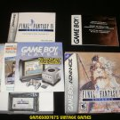 Final Fantasy IV Advance - Nintendo Game Boy Advance - Complete CIB