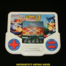 Sonic the Hedgehog 3 LCD Game - Vintage Handheld - Tiger Electronics 1994 - Refurbished
