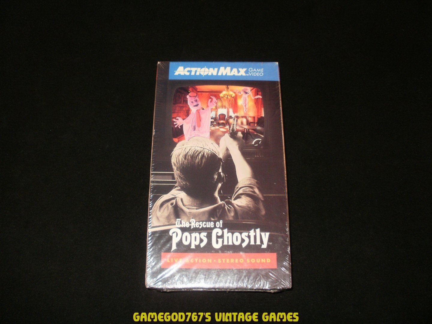 Rescue of Pops Ghostly - Action Max - Brand New Factory Sealed