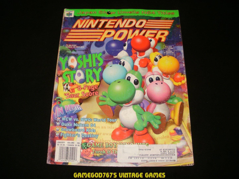 Nintendo Power - Issue No. 104 - January, 1998