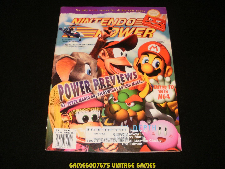 Nintendo Power - Issue No. 86 - July, 1996