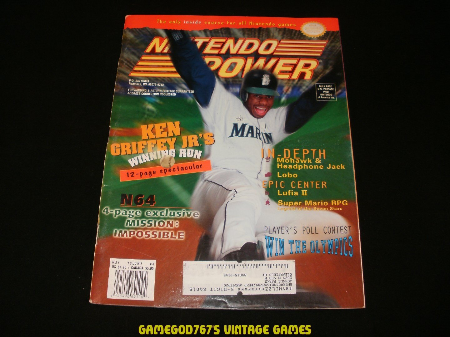 Nintendo Power - Issue No. 84 - May, 1996