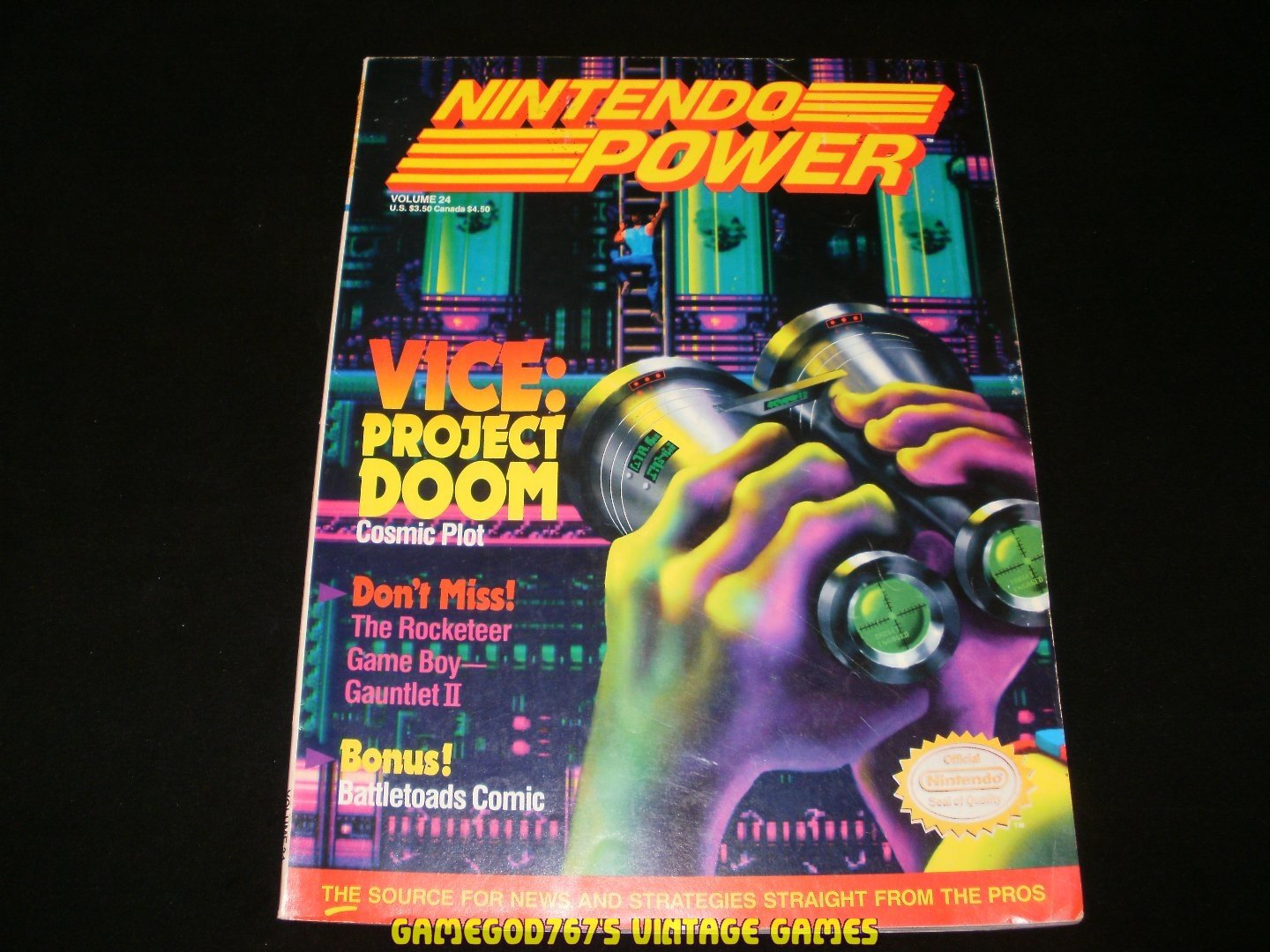 Nintendo Power - Issue No. 24 - May, 1991