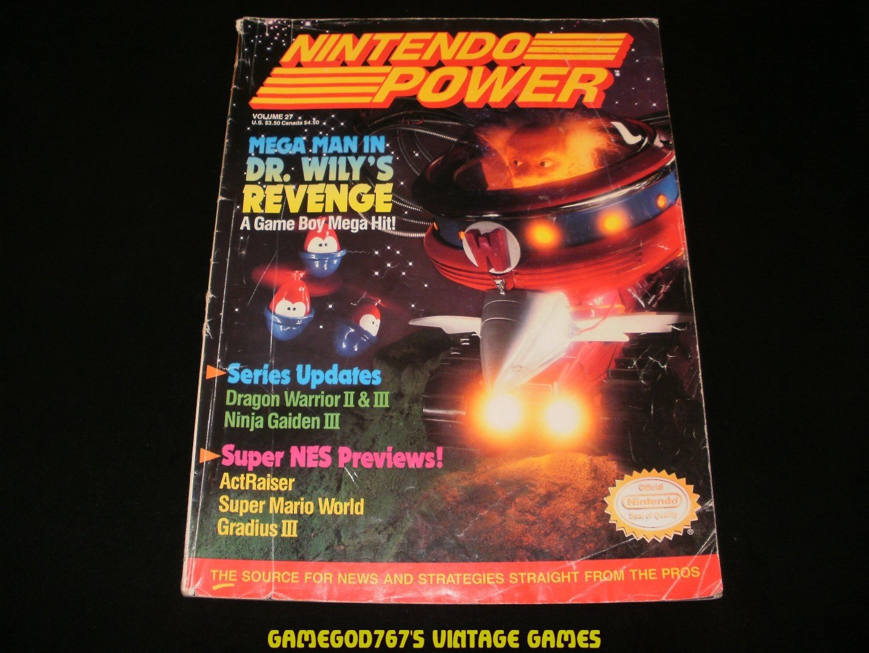 Nintendo Power - Issue No. 27 - August, 1991
