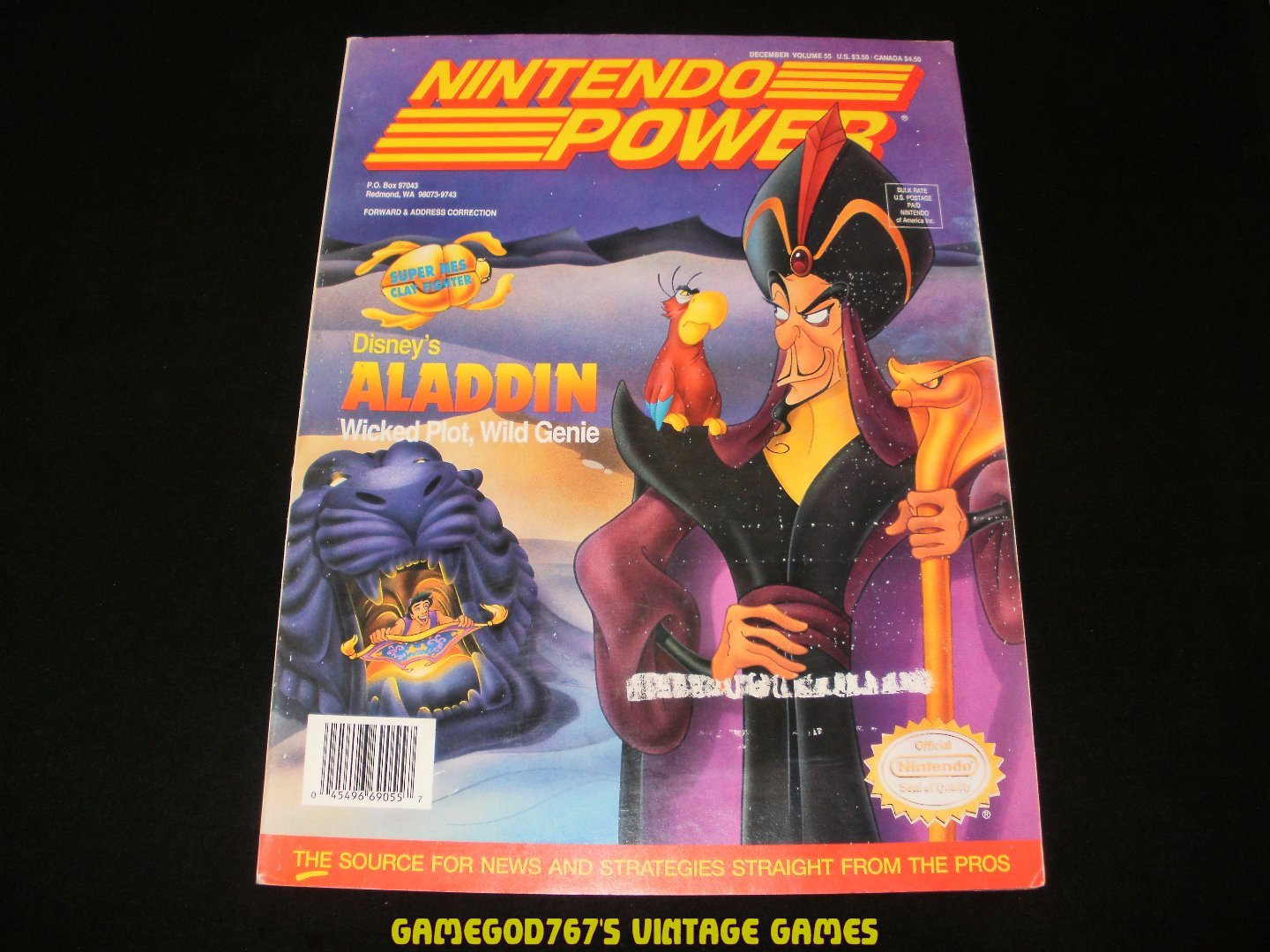Nintendo Power - Issue No. 55 - December, 1993