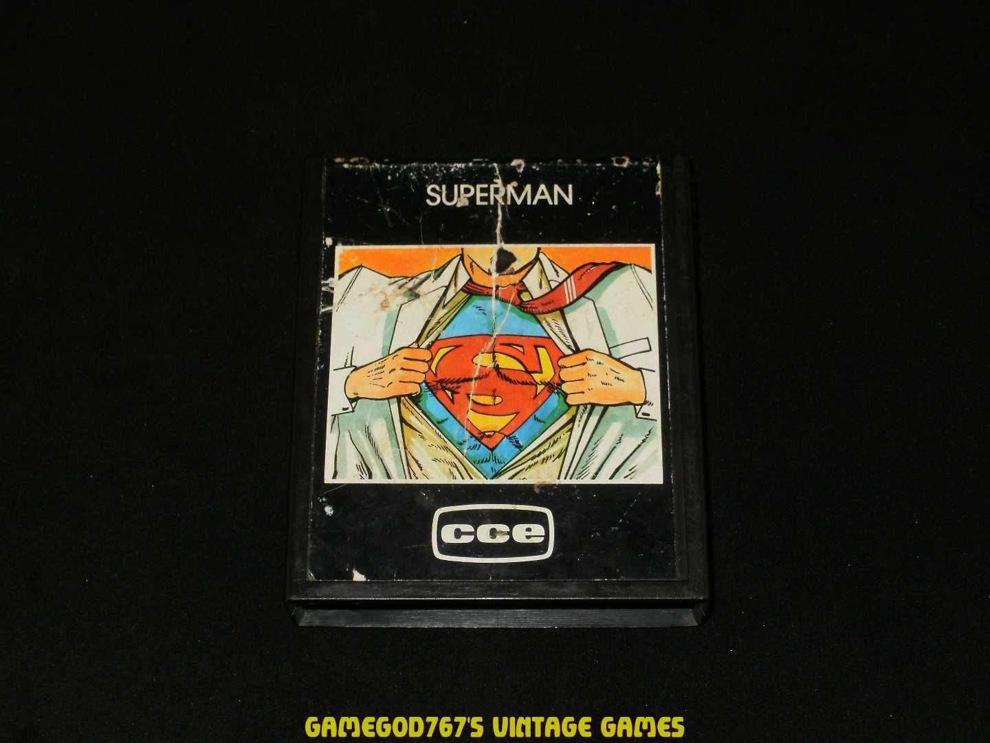 Superman - Atari 2600 - Rare South American 1983 CCE Version