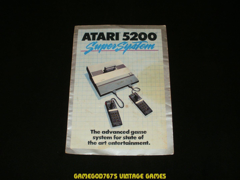 Atari 5200 Game Catalog (1983)