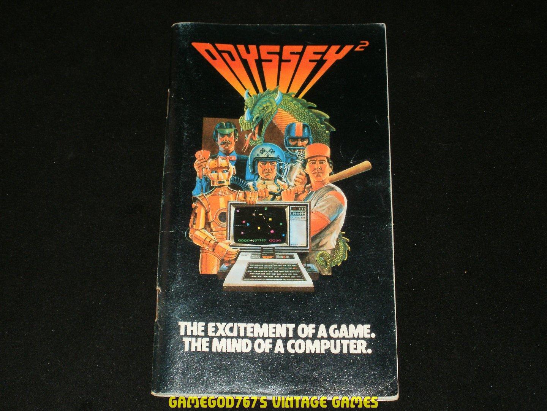 Magnavox Odyssey 2 Game Catalog (1979)