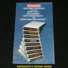 Coleco Game Catalog (1982)