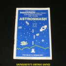 Astrosmash - Mattel Intellivision - Manual Only