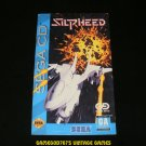 Silpheed - Sega CD - Manual Only