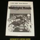 Midnight Magic - Atari 2600 - Manual Only
