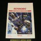 Asteroids - Atari 2600 - Manual Only
