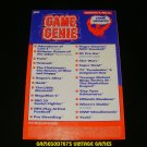 Game Genie Code Update Book - Galoob 1991 - Volume 1, No.4 - Rare