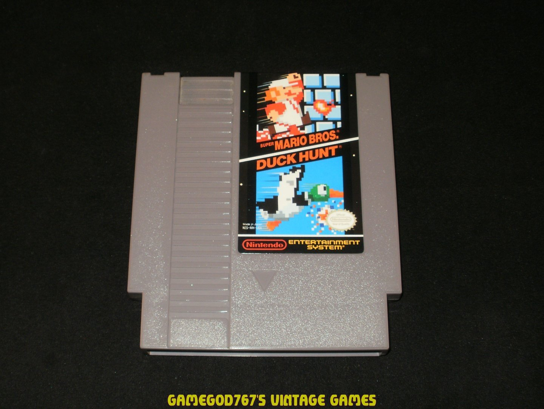 Super Mario Bros Duck Hunt - Nintendo NES