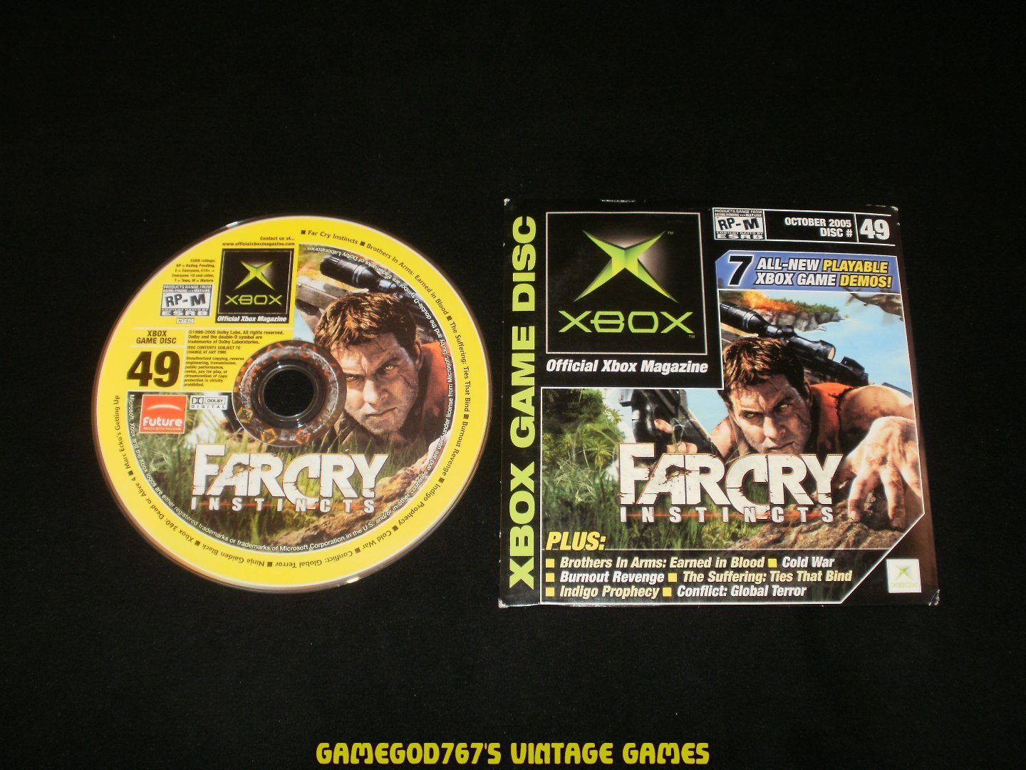 Official Xbox Magazine Demo Disc - Number 49, October 2005