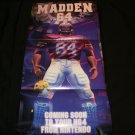Madden 64 Poster - Nintendo Power October, 1997 - Never Used