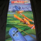 Wings Aces High Poster - Nintendo Power July, 1992 - Never Used