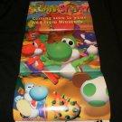 Yoshi's Story Poster - Nintendo Power January, 1998 - Never Used