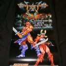 Weapon Lord Poster - Nintendo Power April, 1995 - Never Used