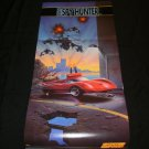 Super Spy Hunter Poster - Nintendo Power June, 1991 - Never Used