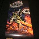 Supercross 2000 Poster - Nintendo Power August, 1999 - Never Used