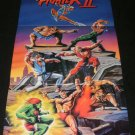 Street Fighter II Poster - Nintendo Power April, 1992 - Never Used