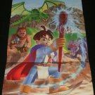 Quest 64 Poster - Nintendo Power May, 1998 - Never Used