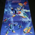 Megaman X2 Poster - Nintendo Power January, 1995 - Never Used