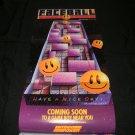 Faceball 2000 Poster - Nintendo Power November, 1991 - Never Used
