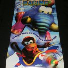 Diddy Kong Racing Poster - Nintendo Power November, 1997 - Never Used