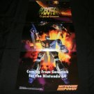 Robotech Poster - Nintendo Power July, 1996 - Never Used