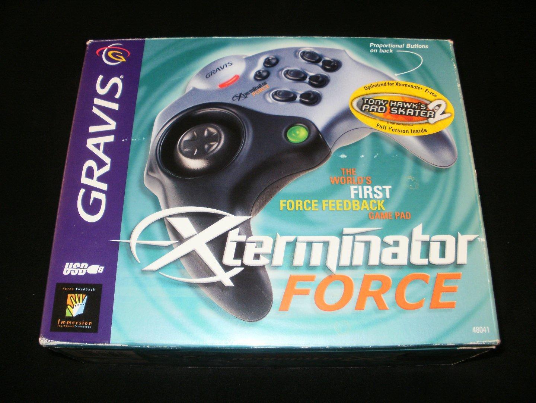 Gravis Xterminator Force Game Pad - Windows PC - Complete CIB