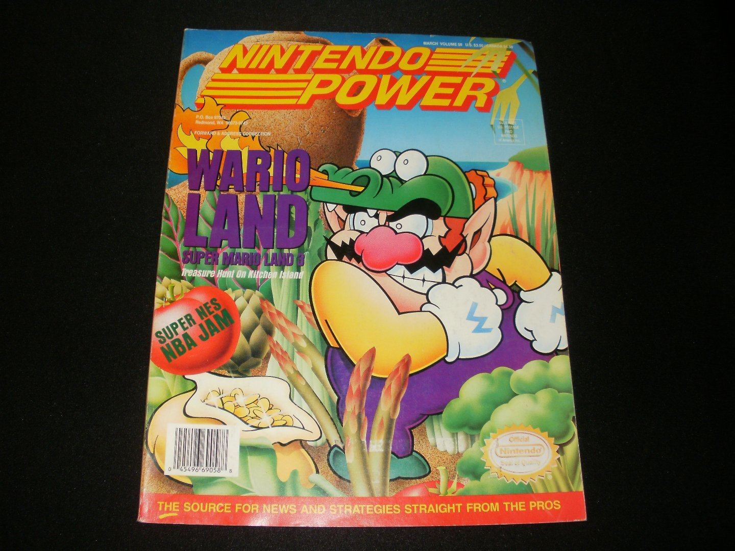 Nintendo Power - Issue No. 58 - March, 1994