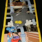 The Itchy & Scratchy Show Poster - Nintendo Power July, 1994 - Never Used