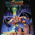 Demon's Crest Poster - Nintendo Power November, 1994 - Never Used