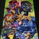 X-Men Mutant Apocalypse Poster - Nintendo Power December, 1994 - Never Used