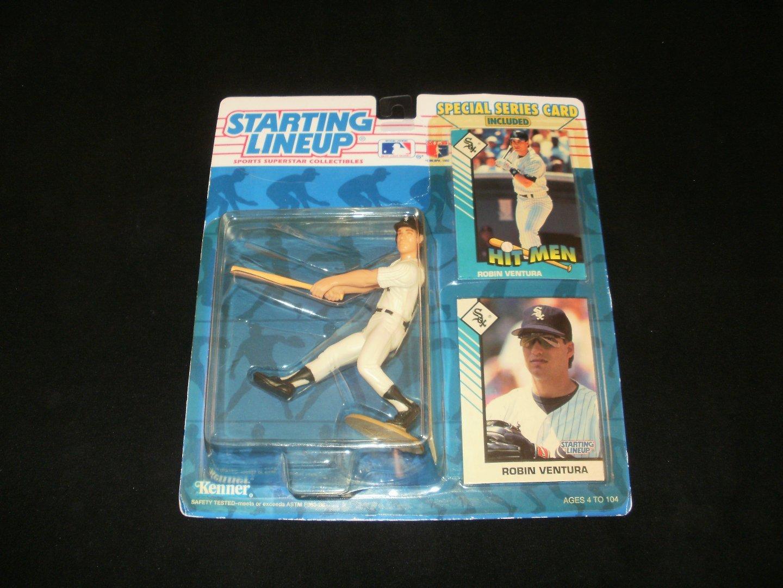 Starting Lineup Robin Ventura Chicago White Sox Figurine - Kenner 1993 - Brand New