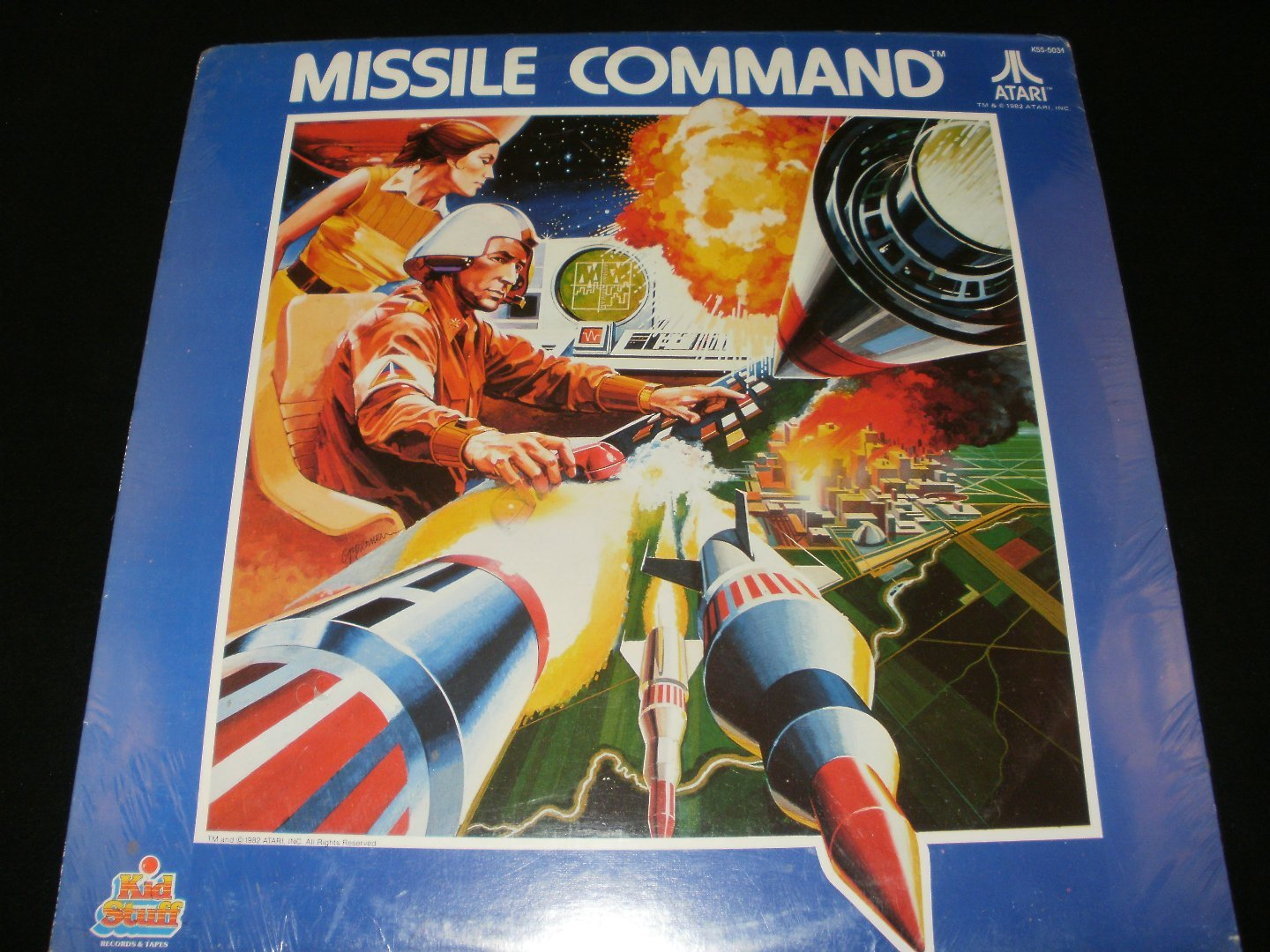 Missle Command - LP Record - Kid Stuff Records 1982 - Brand New